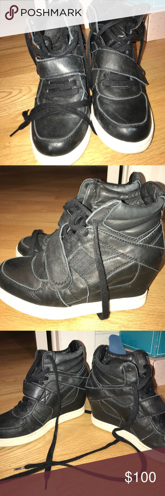 Selling this Ash sneaker wedges on Poshmark! My username is: carlamiller. #shopmycloset #poshmark #fashion #shopping #style #forsale #Ash #Shoes