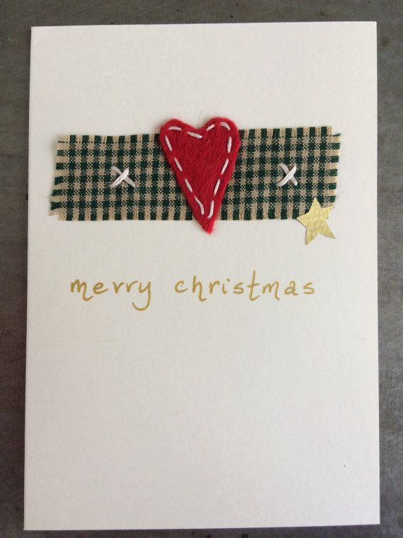 Handwritten Message On The Front Says Merry Christmas. Inside Has Been Left  Blank For Your Own Message. Cream Card X ...  Blank Xmas Cards