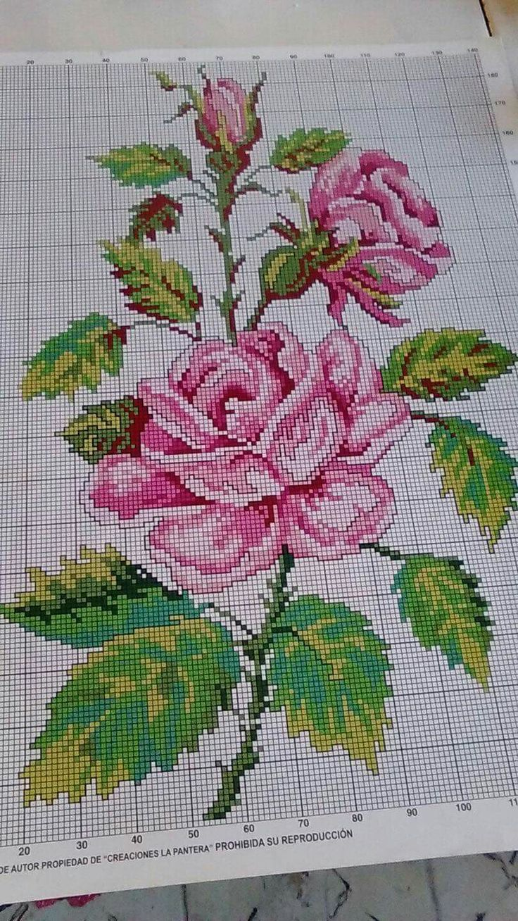 Flowers Crossstitch