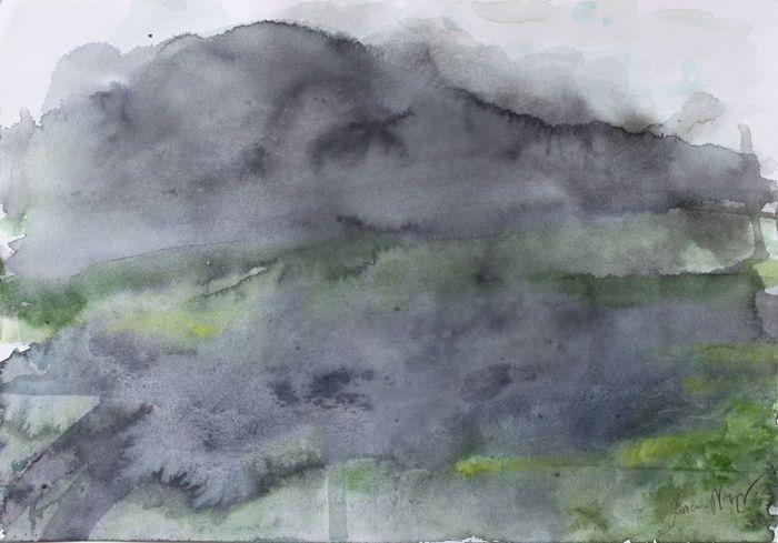 Zuzanna Niespor - White Memories II  #watercolor #acquerello #painting # pittura #zuzanna niespor