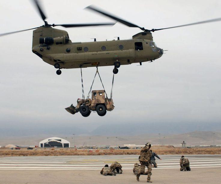 Exercito Brasileiro se Prepara para a chegada dos Ch-47 Chinook