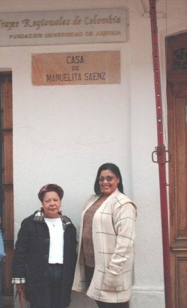 Casa de Manuela Saenz Colombia