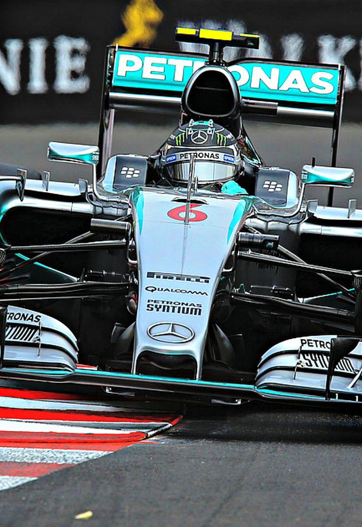 Nico Rosberg, Mercedes Monaco 2015