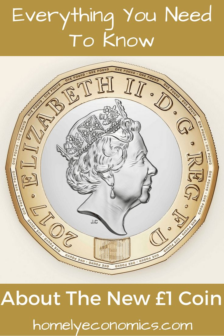 Everything You Need To Know About The New £1 Coin - click on the picture to read up on the new coin and what to do with your old pound coins!