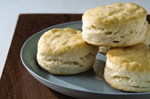 These Baking Powder Biscuits turned out great - just needed a little melted margarine brushed on top after baking.