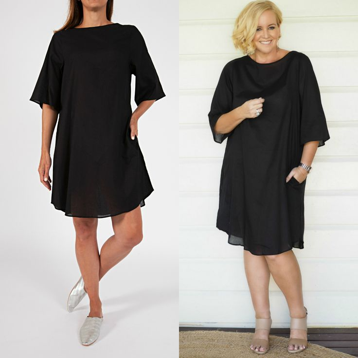 Model and Me - Sassind little black dress with Nikki Parkinson of Styling You.