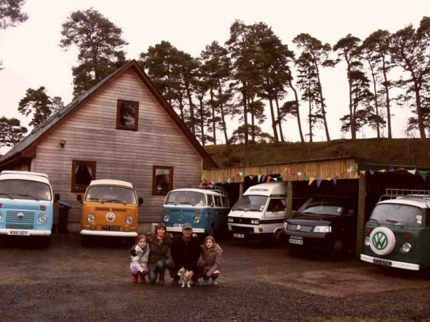Camper Hire Scotland and The Scottish Borders with Classic Campers