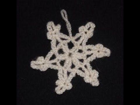 Płatek śniegu #3 - szydełkowanie bez tajemnic