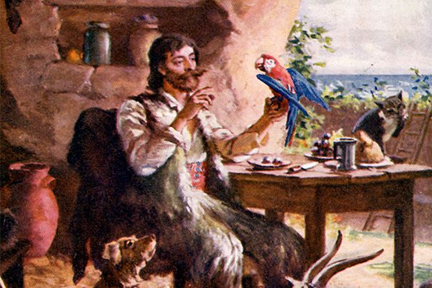 Robinson Crusoe — with more company than Alexander Selkirk enjoyed