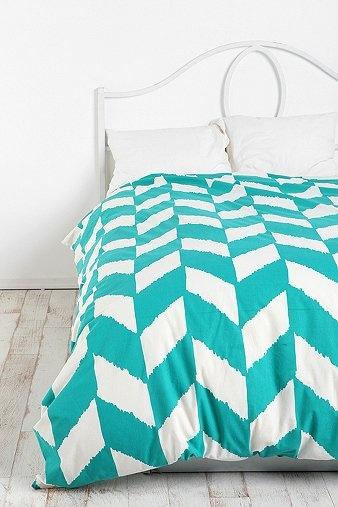 herringbone comforter