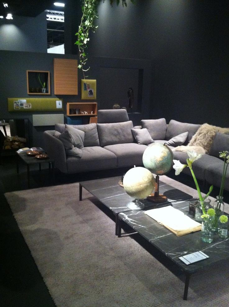 Einfache Dekoration Und Mobel Rolf Benz Neo Sofa #18: De Mooie Stand Van #RolfBenz - #Keulen #IMMcologne 2014