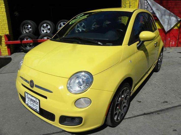 2012 FIAT 500 Sport - $6,900   Newark, NJ      · 8 mi