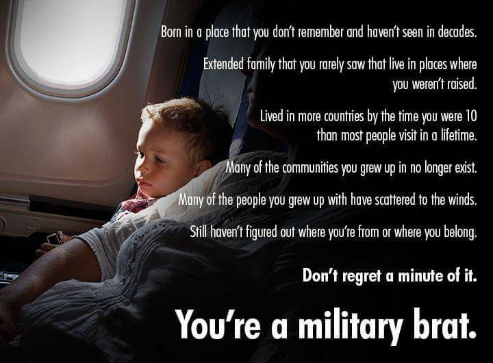 24 Best Military Brats Images On Pinterest