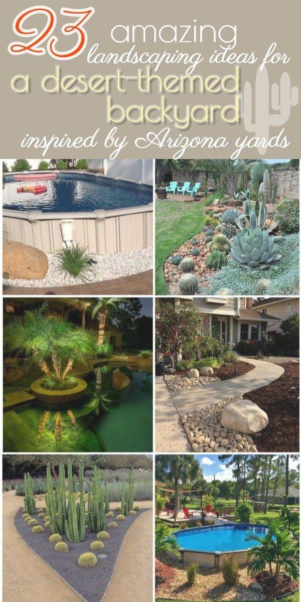 23 Arizona Backyard Ideas On A Budget Desert Backyard Arizona Backyard Desert Landscaping