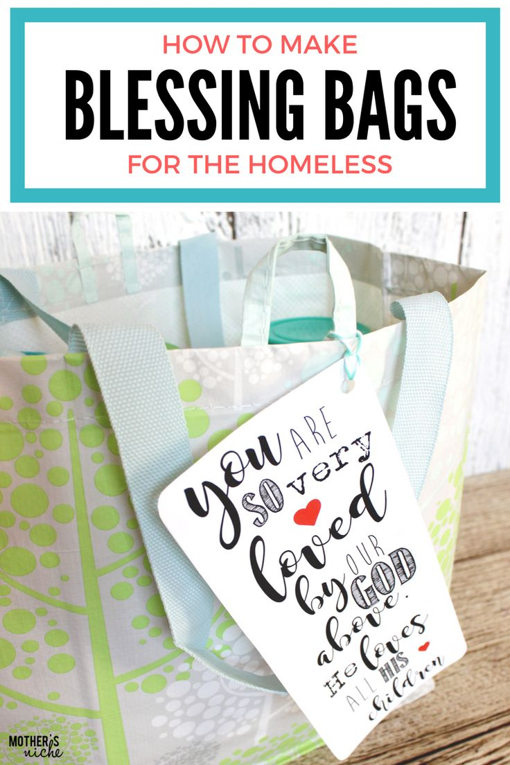 blessing-bags! What a fun way to bless those in need during the holidays
