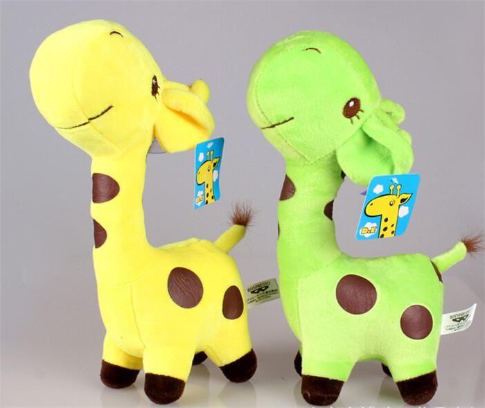 Новая Приезжает Горячий Ребенок Дети Супер Симпатичные Жираф Плюшевые Куклы Мягкие Игрушки 18см Подарков Кукла С Присоской D139 Отdaimengma123 В Категории Плюшевые Игрушки