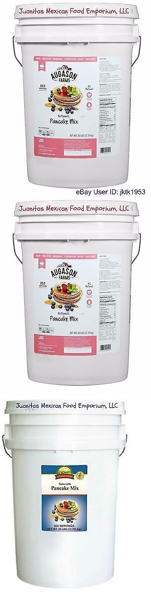 Other Emergency Gear 181415: Augason Farms Emergency Survival Food Buttermilk Pancake Mix - Six Gallon -> BUY IT NOW ONLY: $60 on eBay!