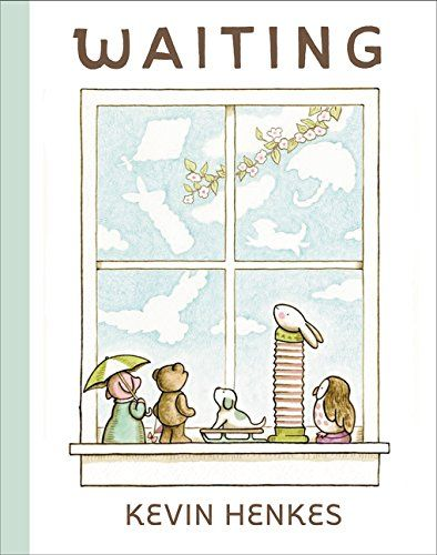 MOCK CALDECOTT SPRING 2016 - Waiting by Kevin Henkes - MAIN Juvenile PZ7.H389 Wai 2015 - check availability @ https://library.ashland.edu/search/i?SEARCH=9780062368430