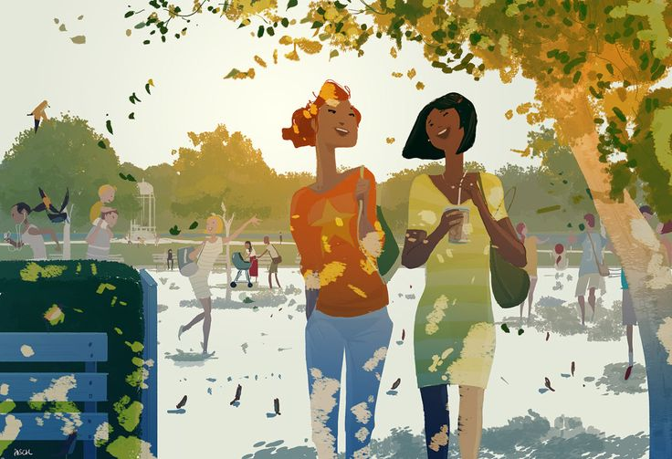 Afternoon at the park #pascalcampion