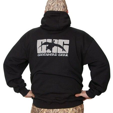 GHG, Hooded Sweatshirt, Black Waterfowl Gear - Clothes - Shirts - By Avery Sporting Dog - 700905839117 at #DOGS Unlimited
