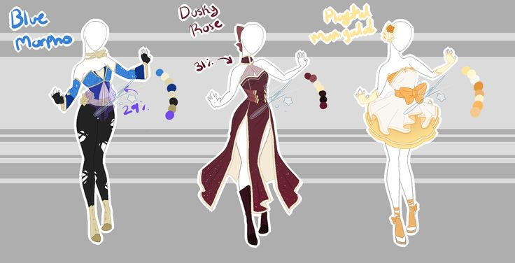 .::Adopt Set 15 2017 (1, 3 OPEN)::. by Scarlett-Knight.deviantart.com on @DeviantArt