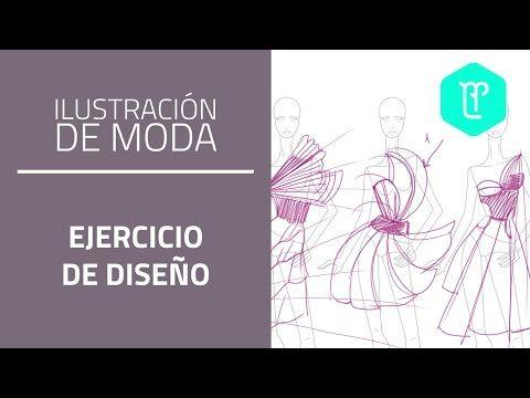 Cómo diseñar vestuario basándonos en formas y texturas: ejercicio creativo - YouTube