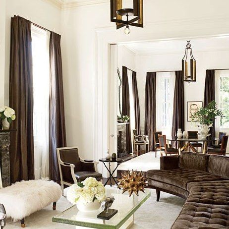 Lush Velvet Rooms from the Pages of AD : Architectural Digest
