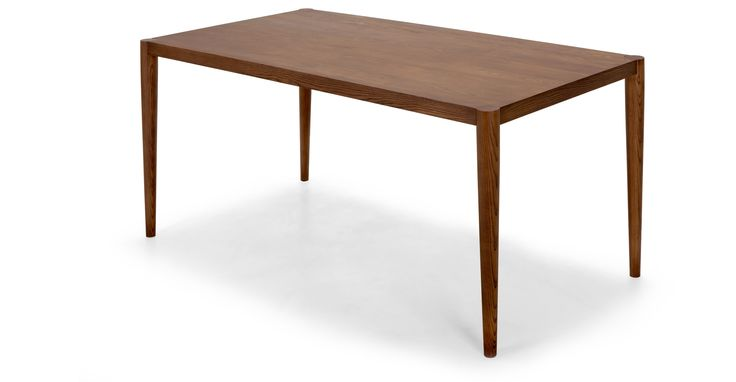 Joseph Dining Table in dark stain ash | made.com