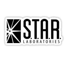 The Flash Star Labs t-shirt Laboratories - The CW, Grant Gustin, DC Comics Sticker