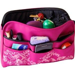 Oliepops Hot Pink Floral Handbag Organiser (NEW) MAXI £15