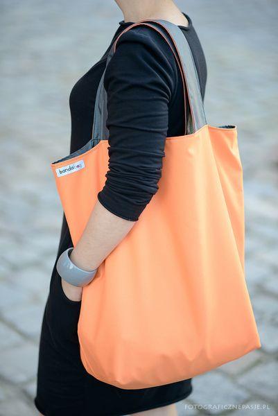 GRAPHIT-ORANGE van BANDA bags&more op DaWanda.com