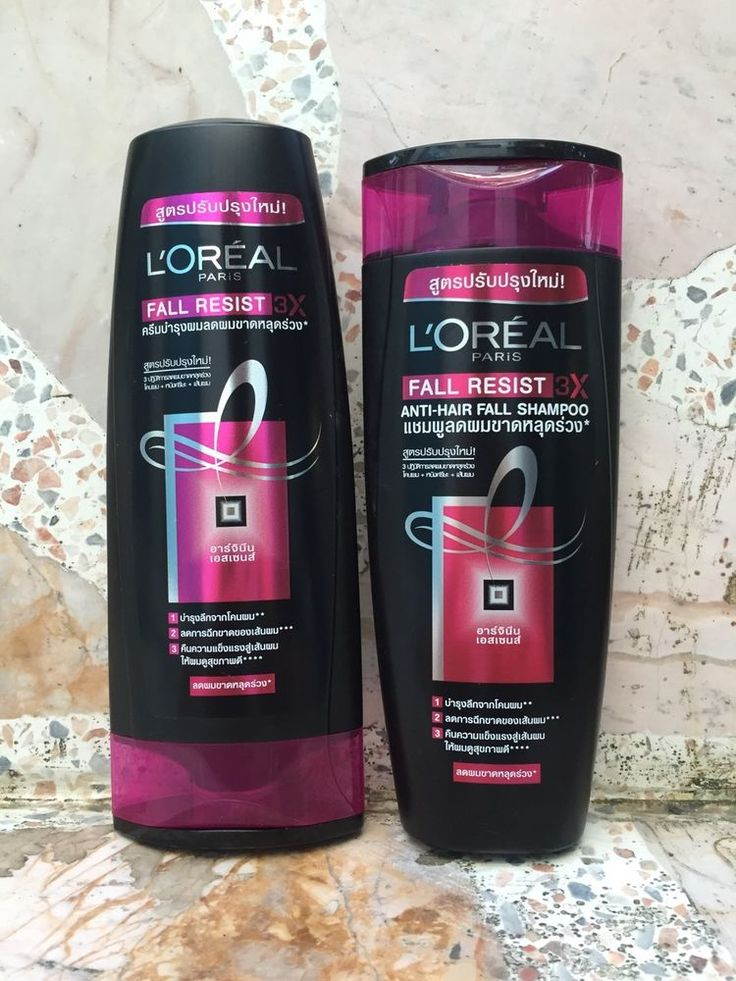 L'Oreal Elseve ELVIVE Arginine Resist x3 Anti hair fall Shampoo & Conditioner #LOreal