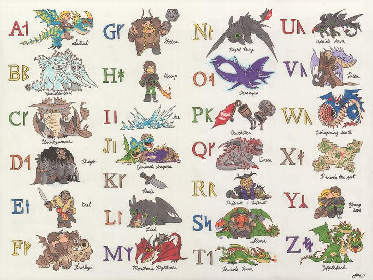 The Art of How to Train Your Dragon 2 - Januel Mercado.  I learned the Norse alphabet a while ago