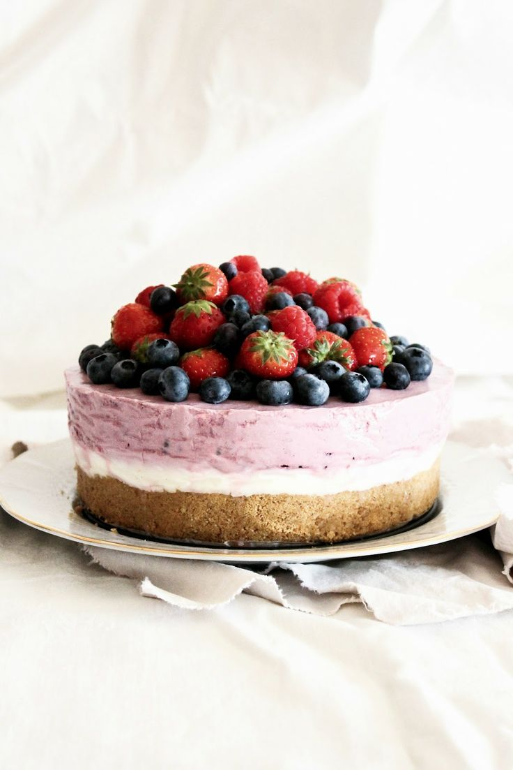 mela e cannella: berry cheesecake