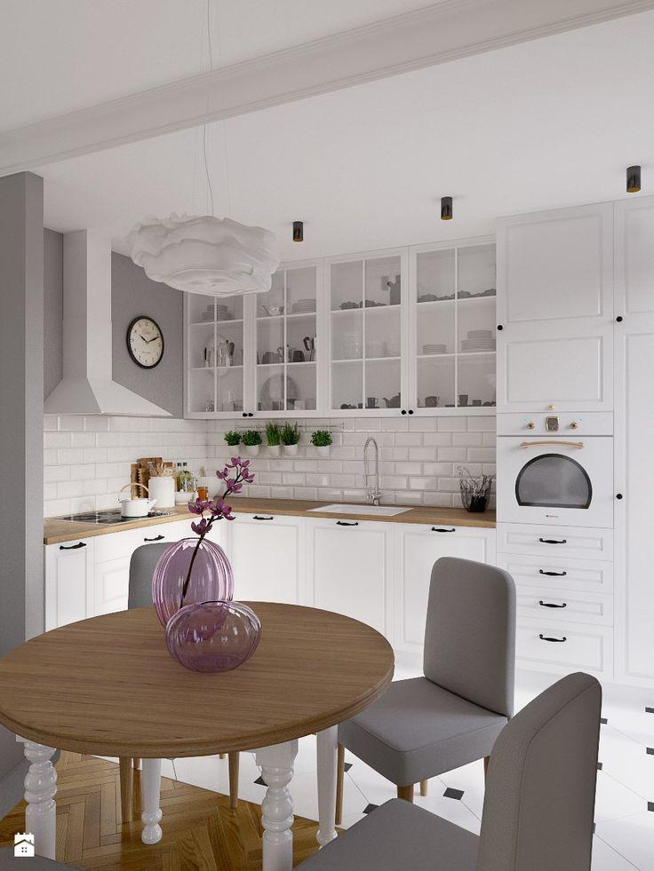 Kolorowy artyzm - Kuchnia, styl skandynawski - zdjęcie od EG projekt