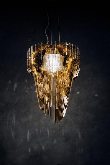 Aria Gold schorsing door Slamp |  Algemene verlichting