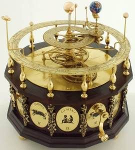 Orrery. I don't know what this is but it looks complicated & calming & needs to be in my house someday.