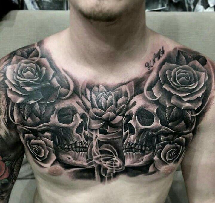 Chest Piece Tattoos, Tattoos