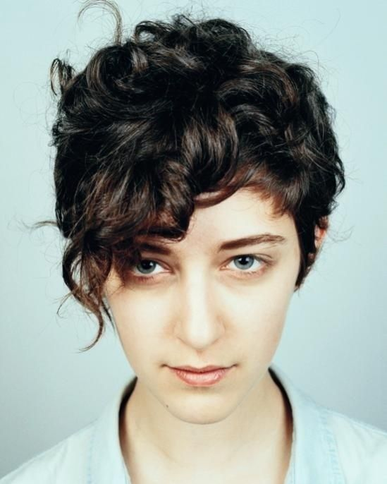 Curly Hair Styles With A Fringe : Best 25 curly pixie cuts ideas on pinterest