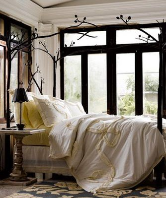 Now who wouldn't want to wake up in this every morning? #Anthropologie #pintowin