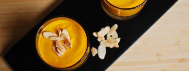 Zeste   Pouding de carottes au lait de coco et à la cardamome