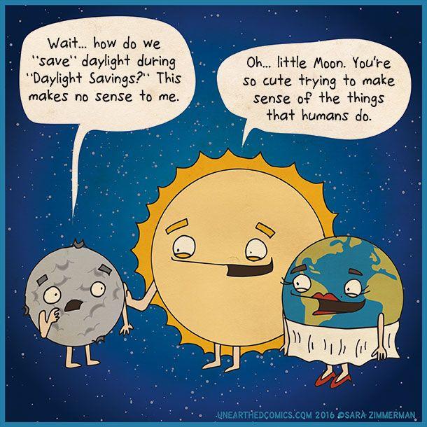 comics about daylight savings and daylight saving time