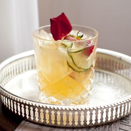 Chelsea Rose Gin Cocktail