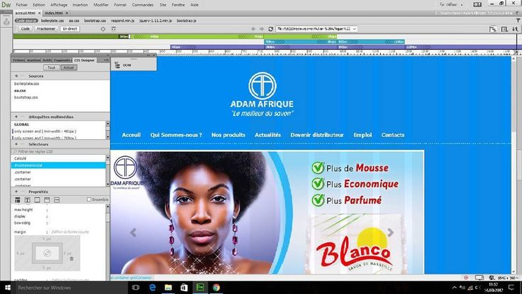 So today I'm updating the website of the company im working for.. They have a old website from 2002's and wasnt updated for 13 years so I just remove it from ovh and build a new one from nothing to this in 2 months. You can give a visite at : www.adamafrique.com and tell me what you think in the comments here on my instagram post. js #javascript #html #html5 #css #css3 #developper #devweb #webdevelopper #website #apache #apachecordova #cordova #c #code #coding #coder #visualstudio…