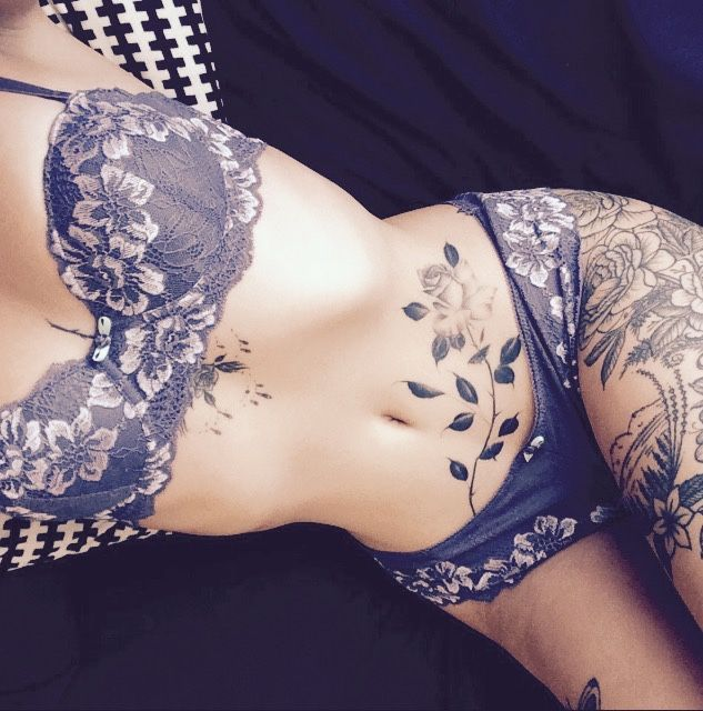 ... Girl Stomach Tattoos on Pinterest | Hippy tattoo Stomach tattoos and