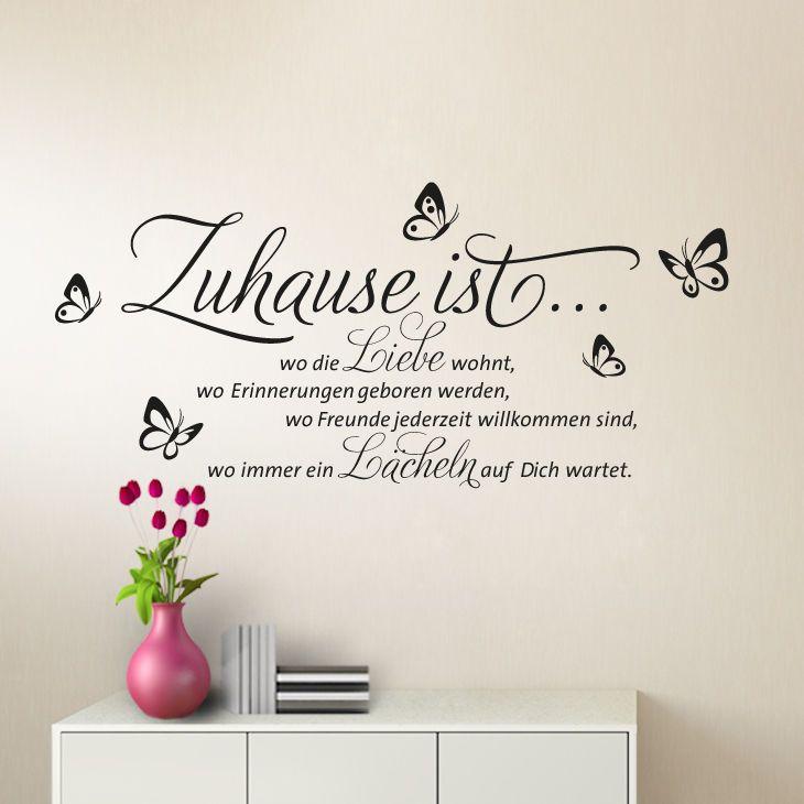 Ponad 25 najlepszych pomysłów na Pintereście na temat tablicy - wandtattoos schlafzimmer sprüche