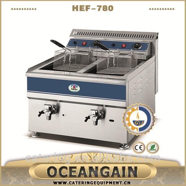 HEF-780 hot sale industrial deep fat fryer for catering