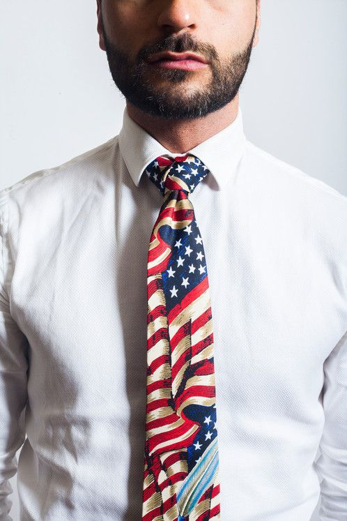 Remember our Founding Fathers this 4th of July with this Declaration of Independence trinity knot Zipper Tie, only from DashingTies.com!