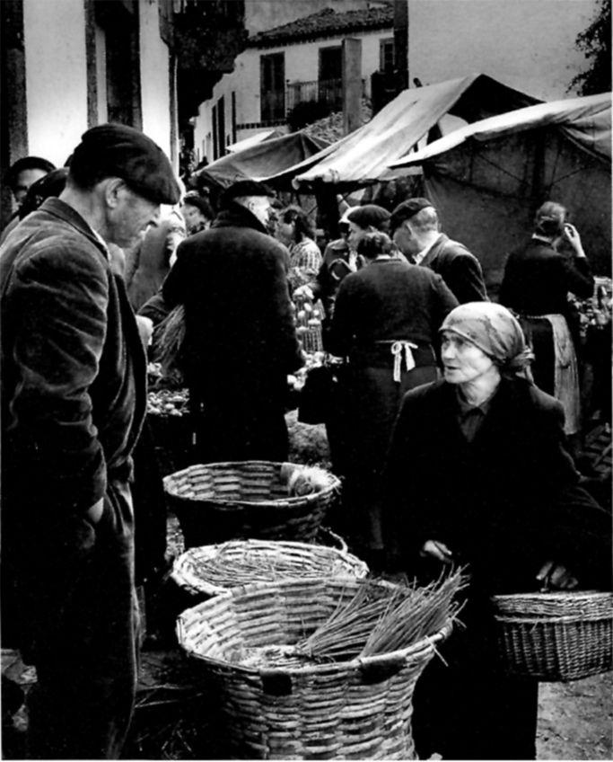 Jean Dieuzaide - Feira, Palas de Rei, 1957 Fotos antiguas de Galicia