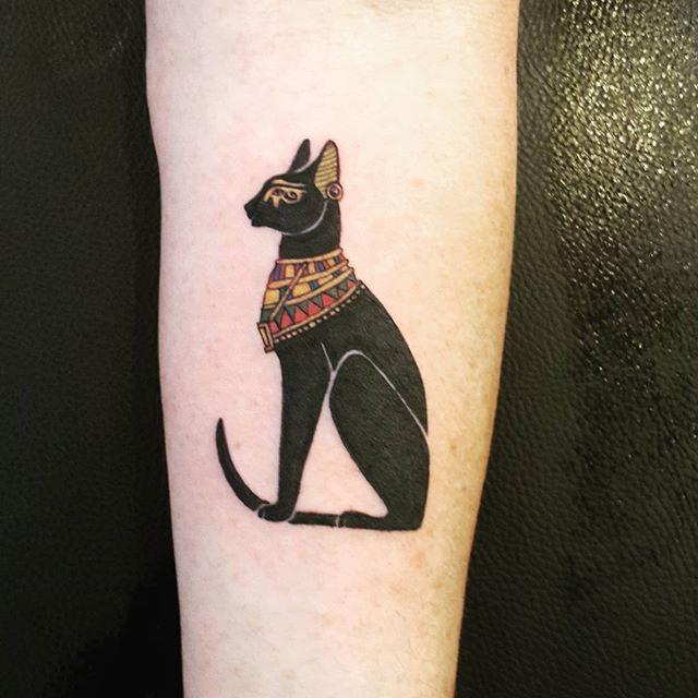 ... Tattoos on Pinterest | Bastet tattoo Cat tattoos and Egyptian tattoo